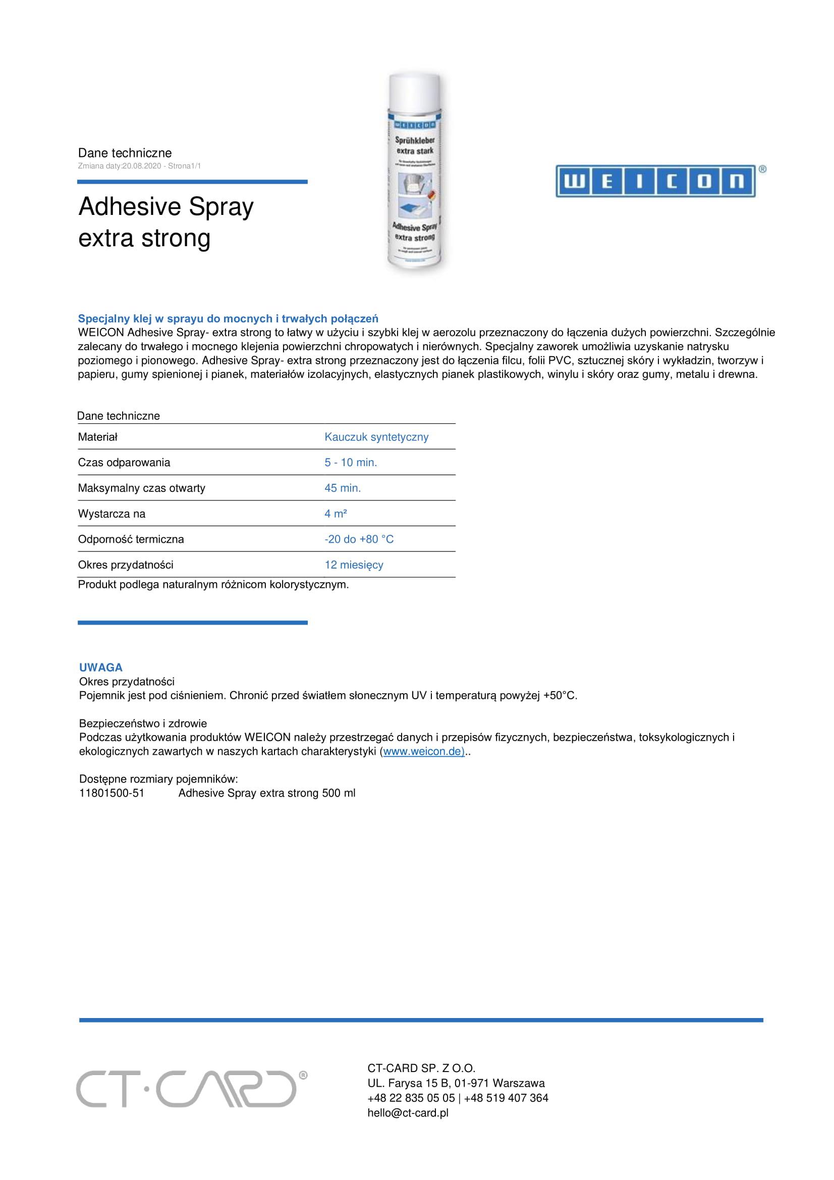 Adhesive Spray extra strong-1