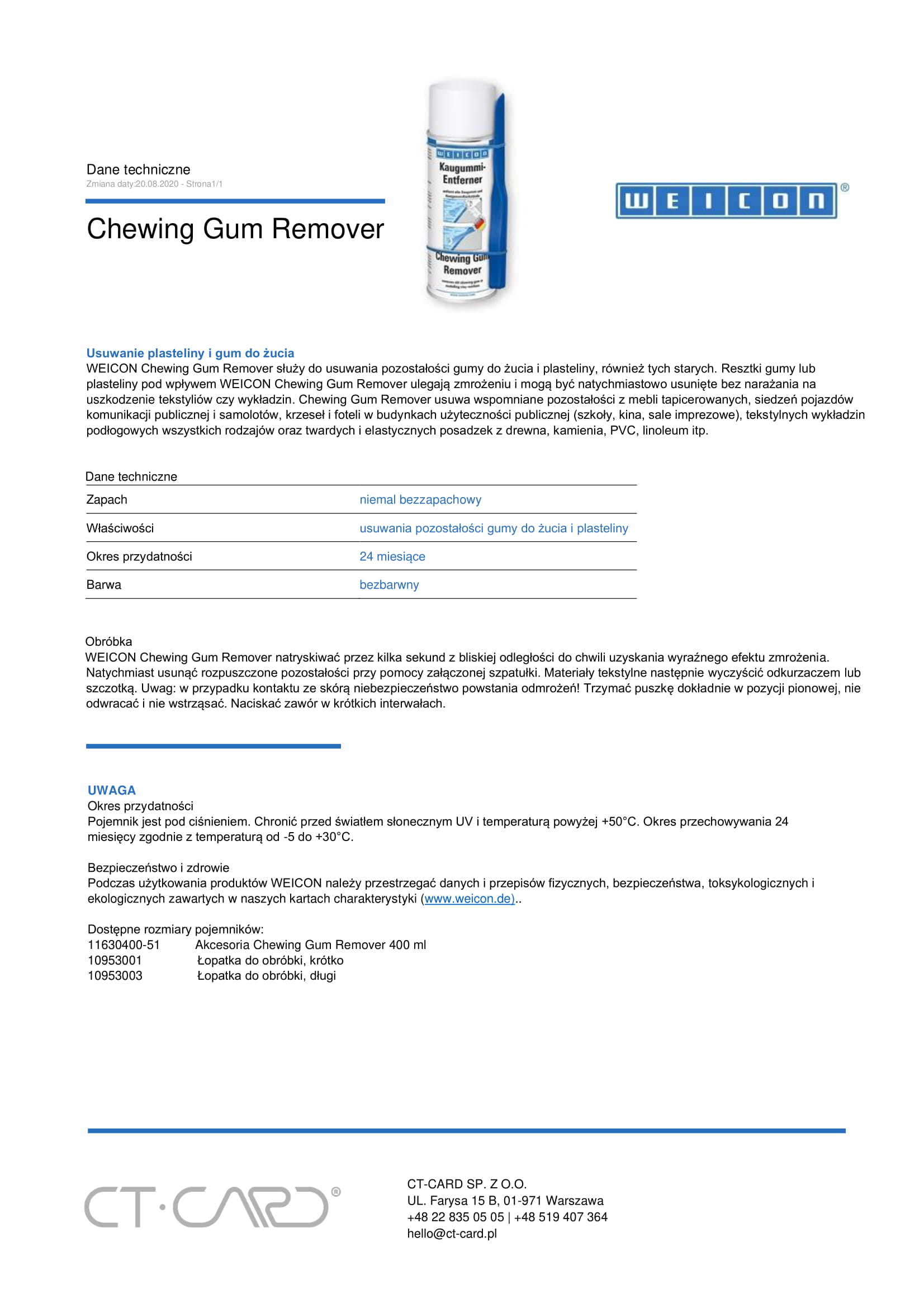 Chewing Gum Remover-1