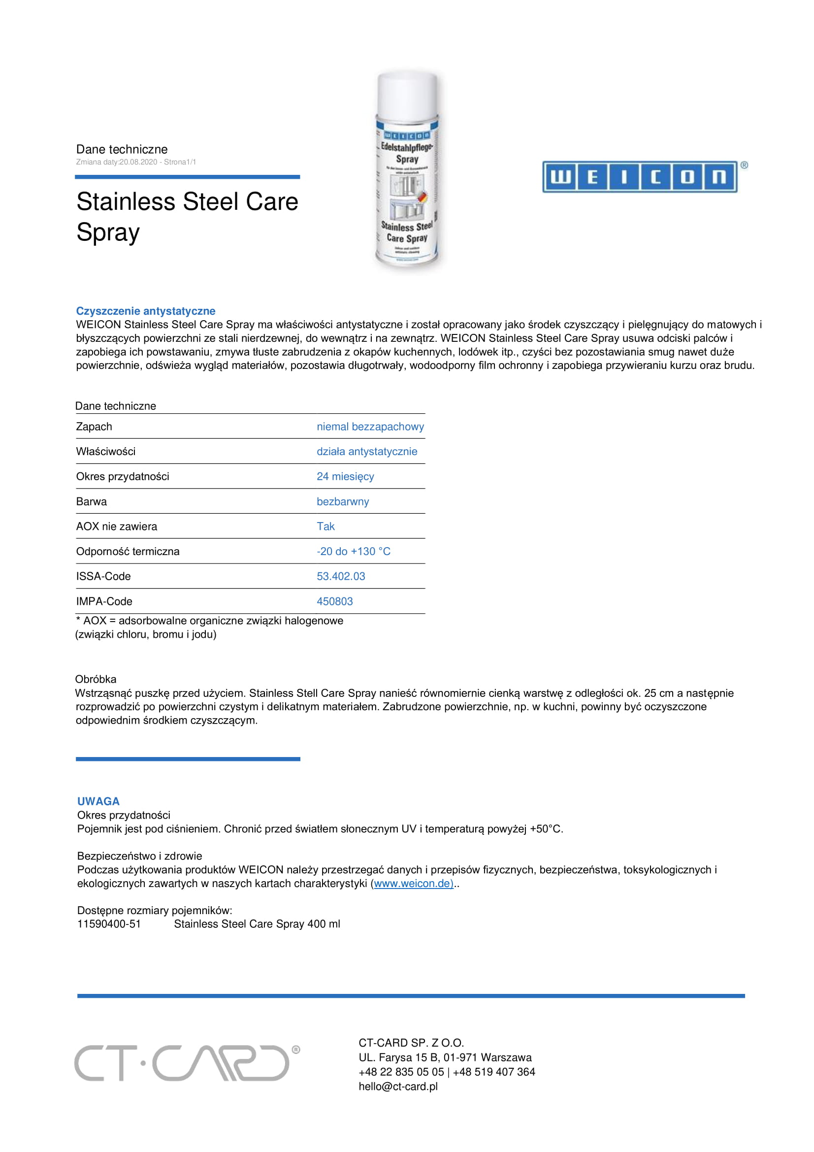 Stainless Steel Care Spray-1